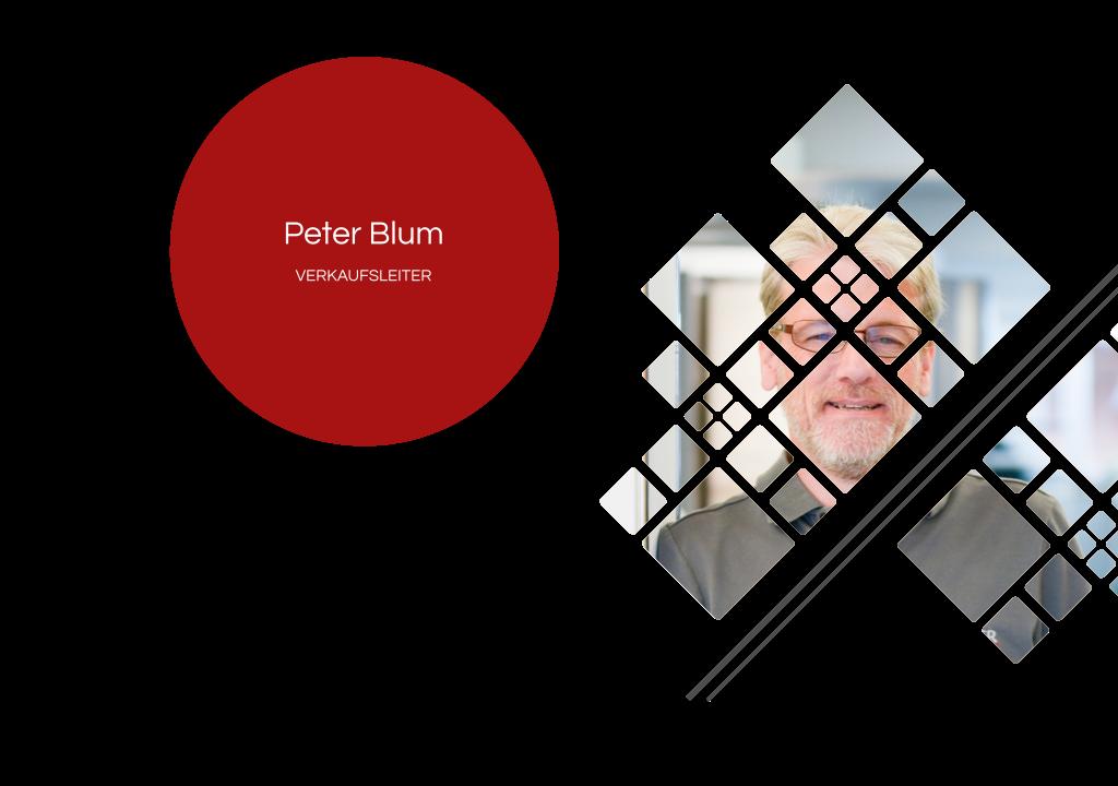 Peter Blum – Verkaufsleiter