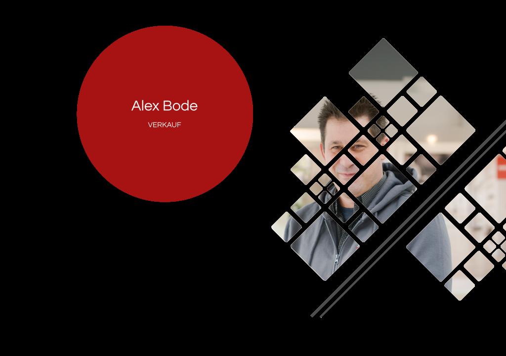 Alex Bode – Verkauf